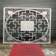 余姚万达广场墙面雕刻铝单板_静电喷涂铝板CNC雕刻镂空