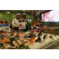 酒店海鲜水产品冰台,自助火锅店菜品冷藏柜,商丘2.5米冰台价格徽点