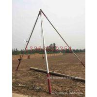 通讯杆立杆机 铝合金水泥杆立杆机 扶杆机平原地区