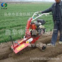 自走式大葱培土机 农用果园挖沟机 圣鲁葡萄园施肥开沟机