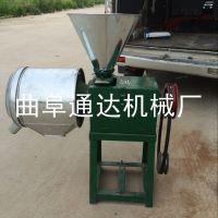 小型磨面机 玉米小麦去皮磨面机 通达牌