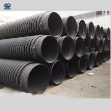 保定市政排水管缠绕管克拉管多钱一米 给水管PE-RT材质 河北华强