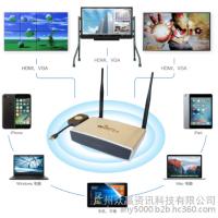 支持HDMI,VGA接口可与投影仪相连的wifptv无线智能会议系统