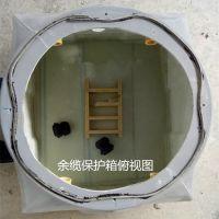 新型环保耐腐蚀重量轻中石化专用光缆接头保护盒700*600*400代工代料模具加工