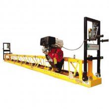 电动透水地坪摊铺机 效果非常好的单滚轴摊铺机