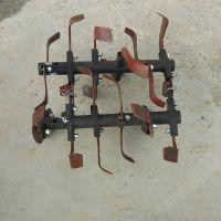 启航柴油开沟机 履带式30马力开沟机 果园专用旋耕施肥回填机