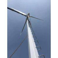 10千瓦永磁水平轴风力发电机低速发电机具有折尾保护功能晟成