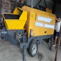 邢台柴油混凝土输送泵 乐众牌大型搅拌拖泵