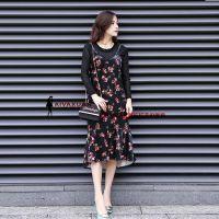 厂家直销品牌女装大码连衣裙批发 品牌服库存尾货清货价格便宜