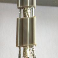 网络电梯随行监控电缆带抗拉钢丝带双屏蔽 电梯工程监控8芯网线 百万高清摄像头网线