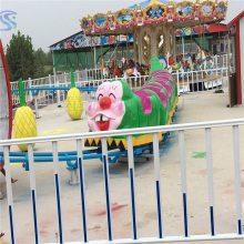 三星游乐设备原装现货青虫滑车qchc12人报价合理儿童游乐设备
