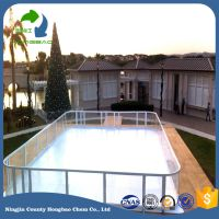 Hongbao high quanlity uhmwpe ice rink floor