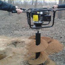 双人操作打孔机 湖南果树种植机 手推40直径打洞机优质批发