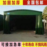 长沙蓬业品质优良,在强烈阳光下不会脱色,跨度可做到15m中间不用加柱子,适用于工厂临时仓库、大排档、