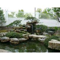 长沙别墅庭院鱼池景观设计