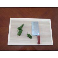 优质柳木实心菜板报价 方形柳木菜板批发