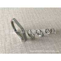 梅花型锁母 金属锁母 铁镀锌螺母 锁紧螺帽薄螺母