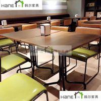 供应浙江轻食餐厅实木桌椅 简约餐桌椅定制 上海工厂直销