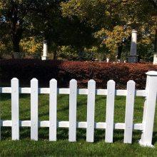 公园建设低矮栅栏 新农村矮栅栏工程 农村建设隔离栏杆