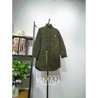 广州伊曼服饰时尚品牌女装折扣批发,拉利兰特轻薄羽绒服