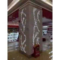 展览馆造型树型铝天花