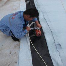 600克复合土工布两布一膜 华龙蓄水池HDPE复合防渗膜厂家
