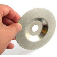 唐卓-正品金刚石磨片100X16 金刚细砂电镀磨轮石材玻璃磨边专用