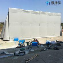 杭州工地厂房雨棚搭建_萧山帆布固定雨篷供应 推拉活动雨棚布优惠促销