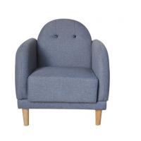 倍斯特定制简约现代实木单位沙发创意西餐咖啡暖色实木布艺沙发