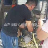 供应辽宁冰糖玉米膨化机 七用大米膨化机  双螺杆膨化机振德制作