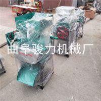 农业机械小型电动破碎机 大同市 熟花生米电动破碎机 高粱加工设备 骏力牌