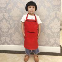 儿童款时尚金属扣单肩围裙 画画围兜 广告围裙定制LOGO