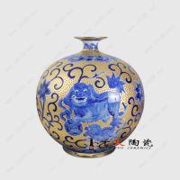 代理加盟景德镇陶瓷花瓶热线 千火陶瓷