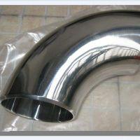 低价(厂家直销)威思凡不锈钢90°弯头无缝管件卫生级焊接弯头
