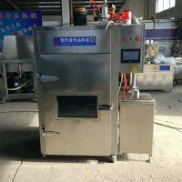 红肠 豆干腊肉烟熏炉生产厂家 熏蒸炉 熏鸡熏鸭设备