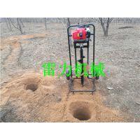 手推式挖坑机的使用效果