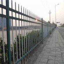 大学外墙隔离栏杆 新型热镀锌钢制围栏 河北锌钢围栏报价