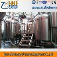 尊皇ZH-5000L小型啤酒厂生产线、啤酒生产线、酿酒机械