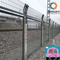 铁路护栏制作@聚光厂家专业制作浸塑铁路护栏围栏