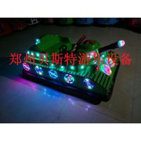 河南邓州广场亲子新款坦克碰碰车非常好玩