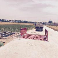 杭州工程砼商洗车池设备,工地自动洗车槽型号尺寸