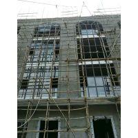大明平移 铝合金窗 带窗头 工程门窗生产厂家
