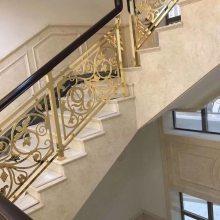 优雅精巧铝板雕刻圆弧旋转楼梯护栏