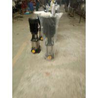 大流量不锈钢多级泵 QDL(F)45-80 30KW 河南焦作众度泵业 不锈钢材质