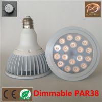 EVAZO LED射灯 PAR38灯杯 18W高亮可调光LED射灯 CE认证