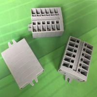 小型接线端子排 微型弹簧端子 快速接线体积小 替代速普wago万可264
