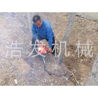 两冲程挖树机 挖树机生产厂家 浩发机械