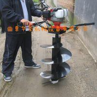 圆形孔挖坑机 圆柱体埋桩机