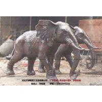 铜雕大象_动物雕塑_文禄铸造