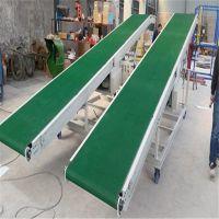 密云县布匹楼层皮带装车输送机 移动升降防滑输送机